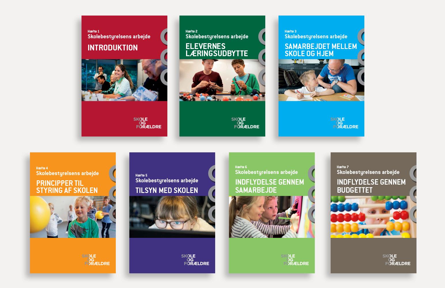 Skole og Forældre - hæfter