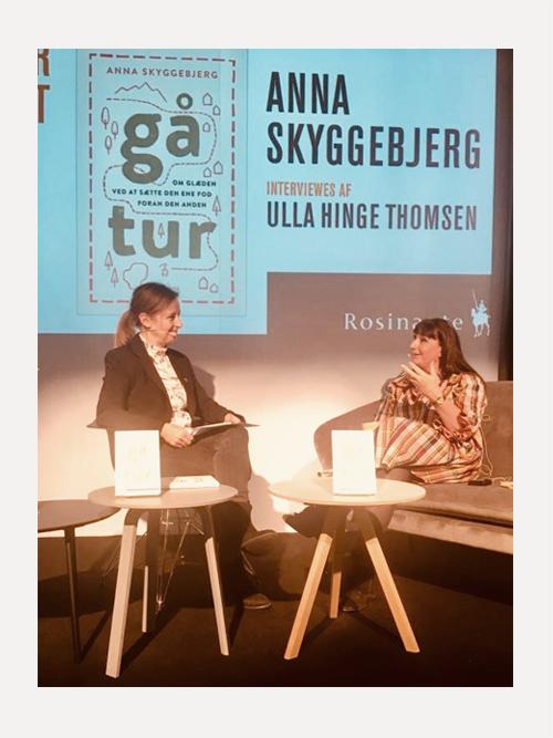 Ulla interviewer Anna Skyggebjerg
