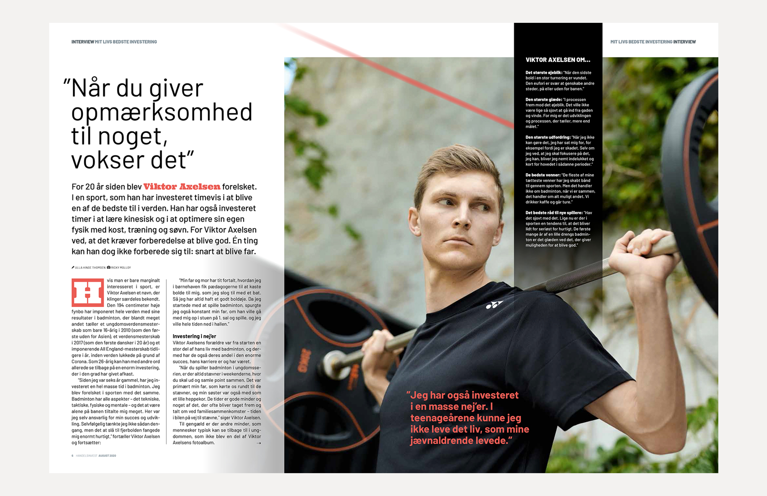 Handelsinvest - Viktor Axelsen